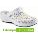 Soft Works Estampado - Branco com Flores