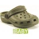 Babuche Kemo Básico Bebê - Verde Militar