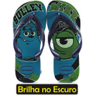 Chinelo Havaianas Kids Monsters Monstros S.A - Azul Capri