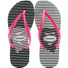 Chinelo Havaianas Slim Graphic Coleção 2014 - Branco/Pink