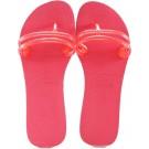Chinelo Havaianas Flat Gum - Pink Neon