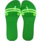 Chinelo Havaianas Flat Gum Coleção 2014 - Green Neon