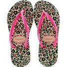 Chinelo Havaianas Kids Slim Fashion - Areia