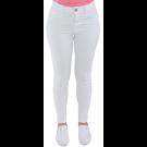 Calça Jeans Feminina Sawary Cigarrete - Branca