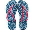 Chinelo Havaianas Slim Sunny Coleção 2014- Azul Capri