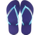 Chinelo Havaianas Slim Logo Pop-Up - Ice Violeta
