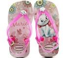 Chinelo Havaianas Baby Marie Coleção 2014 - Rosa Cream