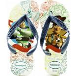 Chinelo Havaianas Toy Story - Branco