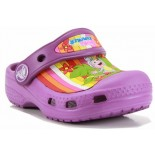 Crocs Dora Multistripe - Dahlia
