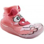 Meia Impec Baby No Shoes - Rosa Claro