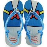 Chinelo Havaianas Baby Disney Classics Pato Donald - Branco
