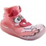 Meia Impec Baby No Shoes - Rosa Claro